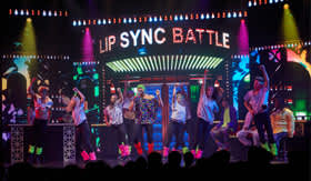 Lip Sync Battle aboard Carnival