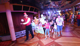 Seuss-a-palooza Parade aboard Carnival