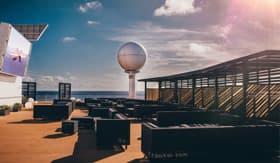Rooftop Terrace aboard Celebrity Cruises
