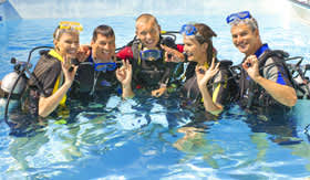 SCUBA Diving for Paul Gauguin