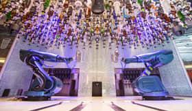Bionic Bar aboard Royal Caribbean