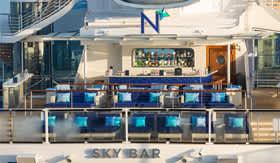 North Star Bar aboard Royal Caribbean