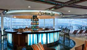 Solarium Bar aboard Royal Caribbean
