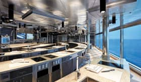 Culinary Arts Kitchen aboard Regent Seven Seas