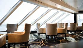 Observation Lounge aboard Regent Seven Seas