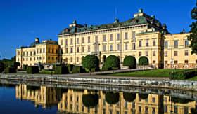 Drottningholm Palace in Stockholm, Sweden