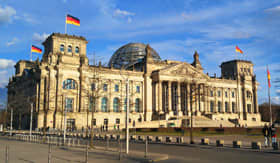 Parliament Building in Berlin, Germany