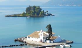 Vlacherna Monastery in Greece