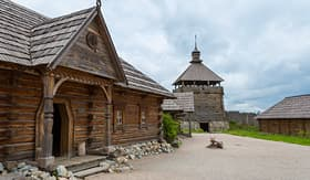 Viking River Cruises Fortified Cossack settlement in Ukraine