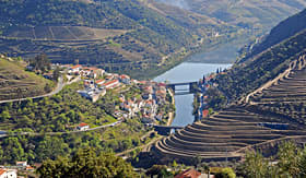 Viking River Cruises Pinhao Vineyards in Douro Valley, Portugal