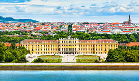 Viking River Cruises Schonbrunn Palace in Vienna, Austria
