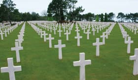 Viking Rivers Seine American Military Cemetary Normandy France