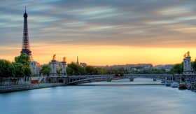 Viking Rivers Seine Eiffle Tower Paris France