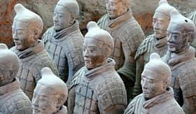 Viking River Cruises Terracotta Warriors in Xian, China