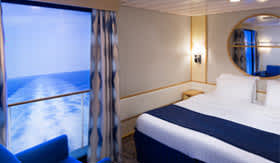 Virtual Stateroom Balconies Aboard Odyssey of the Seas
