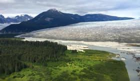 Taku Glacier in Alaska
