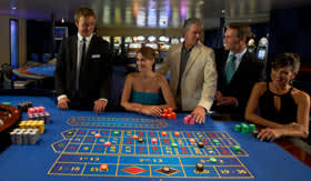 Windstar Cruises Casino with Roulette