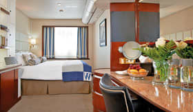 Windstar Cruises Sail Ship Deluxe Oceanview Stateroom