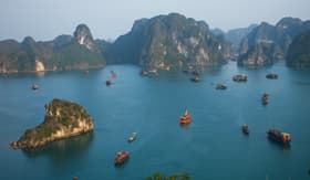 Windstar Cruises Halong Bay Vietnam