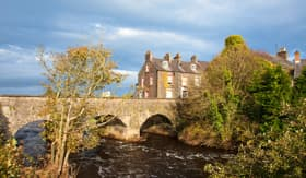 Windstar Cruises Old Bushmills Village Bridge and River Northern Ireland
