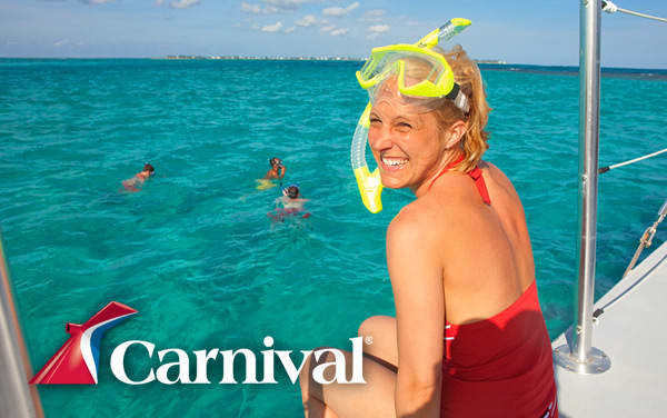 Carnival Bahamas cruises from $179*