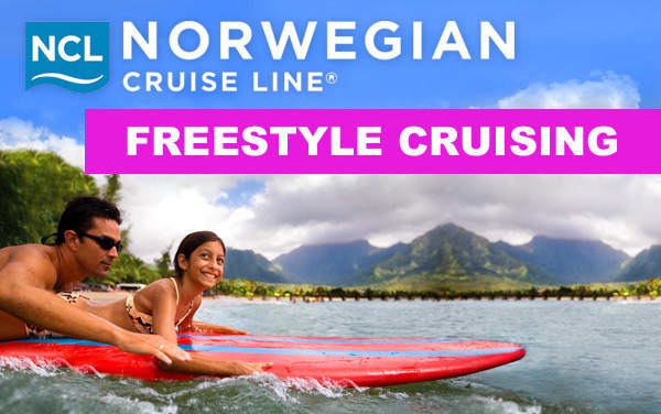 Go Freestyle with Norwegian Cruise Line