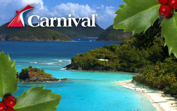 Carnival Holiday cruises from $214*