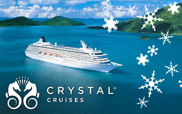 Crystal Cruises Holiday cruises from $2,421*