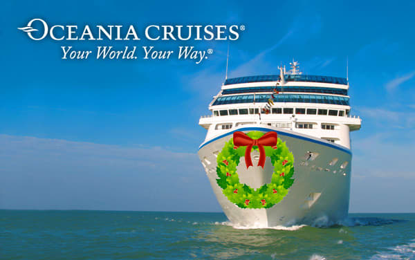 Oceania Cruises Holiday cruises from $3,099*