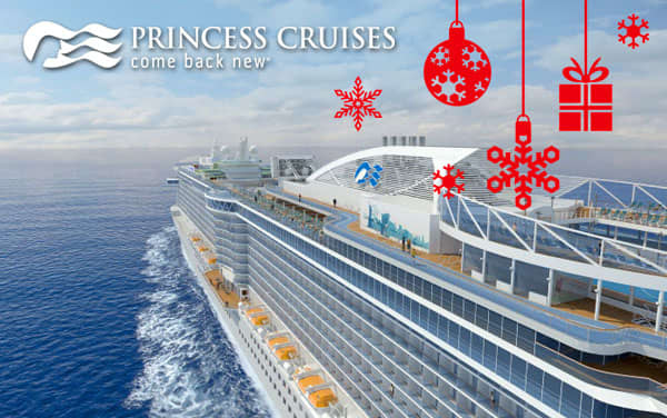 Princess Cruises Holiday cruises from $629*