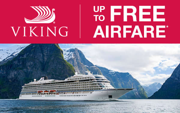 Viking Oceans: up to FREE Airfare*