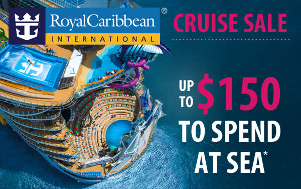 Royal Caribbean Sale: up to $150 Onboard Credit*