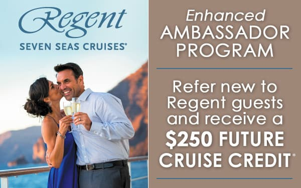RSSC Ambassador Program: $250 Future Cruise Credit