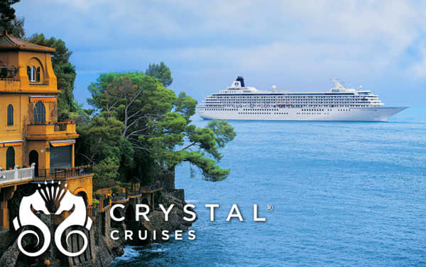 Crystal Mediterranean cruises from $2,054*