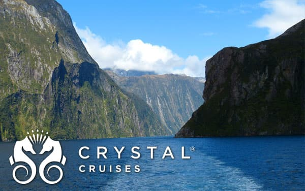 Crystal Australia/New Zealand cruises from $4,077*