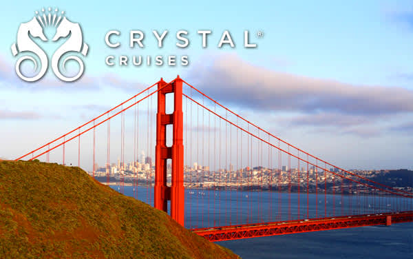 Crystal U.S. Pacific Coast cruises from $2,434*