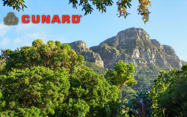 Cunard Africa cruises from $1,999*