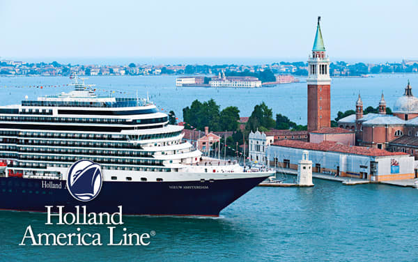 Holland America Mediterranean cruises from $1,399*