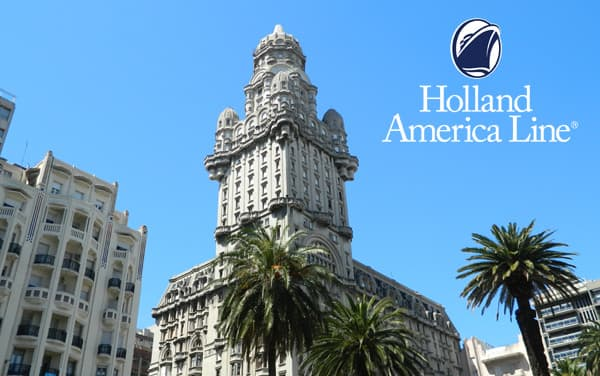 Holland America South America cruises from $1,649*