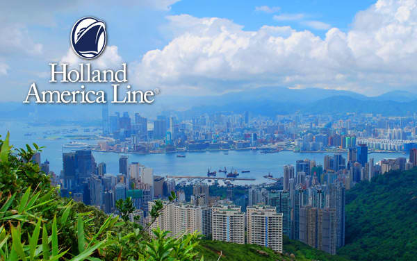 Holland America Transpacific cruises