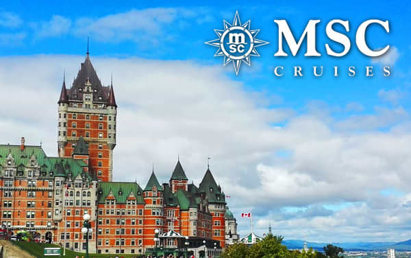 MSC Cruises Canada & New England cruises from $599*