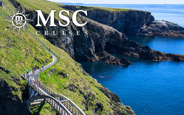 MSC Cruises Northern Europe cruises from $159*