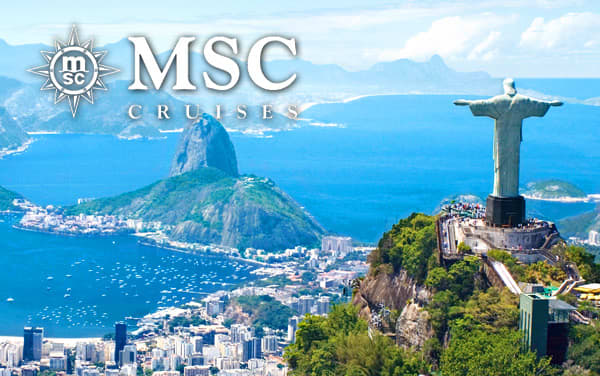 MSC Cruises South America cruises from $239*