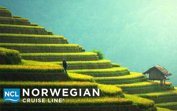 Norwegian Cruise Line Asia cruises from $300.30*
