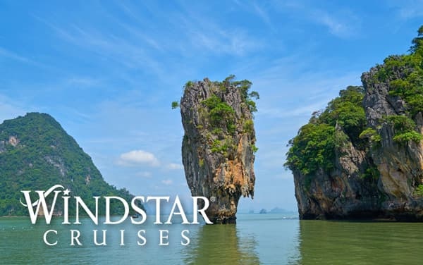 Windstar Asia cruises from $3,599*