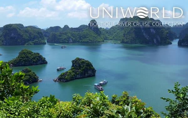 Uniworld Southeast Asia cruises from $5,499*