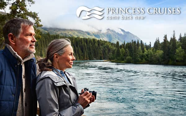 Princess Alaska cruise tours from $1,299*