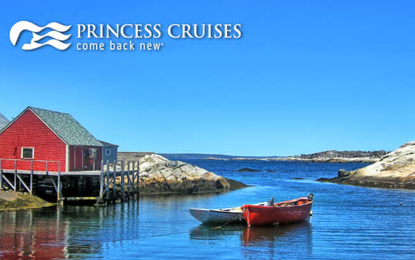 Princess Canada & New England cruises from $929*