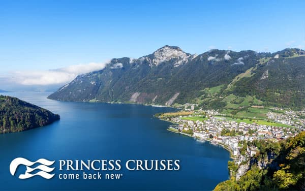 Princess Europe cruise tours from $4,186*
