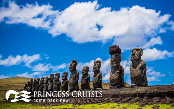 Princess South America cruises from $1,399*